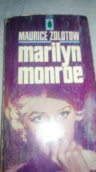biografia marilyn monroe. edicion 1958
