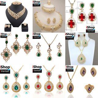 gran variedad de joyas,conjutos..