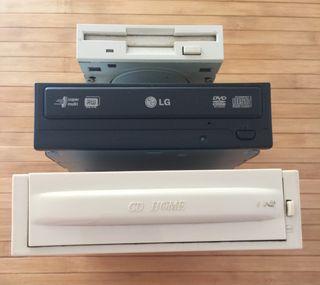 Dvd grabador,archivador cds,lector de cartuchos