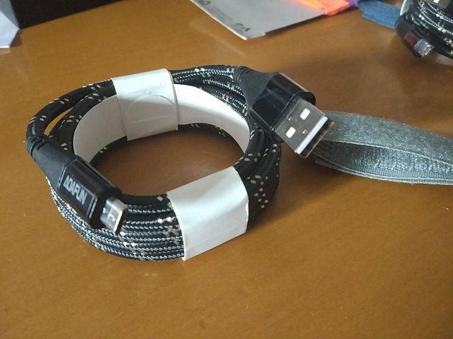 Cable micro USB nylon trenzado nuevo