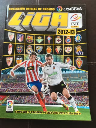 Álbum cromos Liga 2012-13