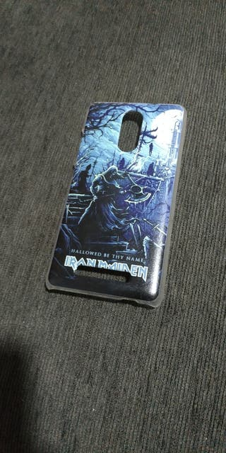 funda de iron maiden para xiaomi redmi note 3