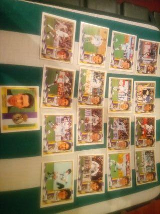 Real Madrid. Liga 95-96. 17 cromos.