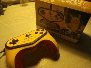 Mando pokken pikachu para wii u o switch