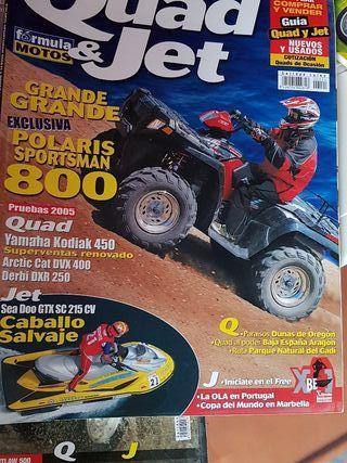dicersas revistas de quad