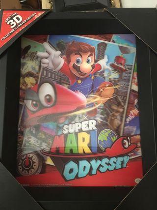 Poster 3D Super Mario Odyssey