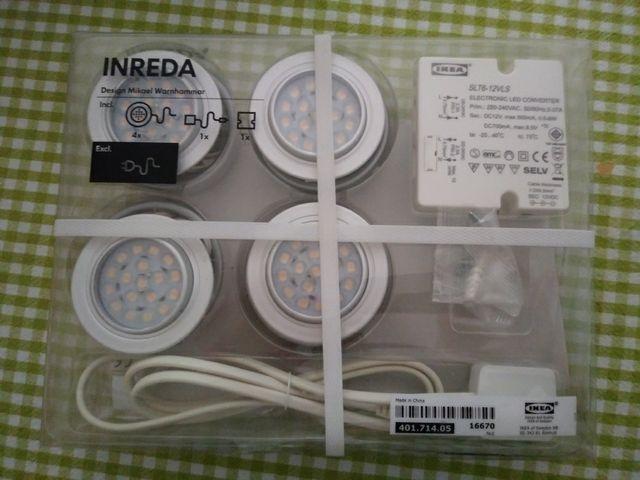 Luces Led Para Muebles De Cocina Inreda Ikea De Segunda Mano Por 30 - Luces-para-muebles-de-cocina