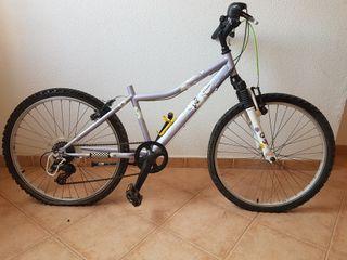 Bicicleta Btwin niño 24 pulgadas