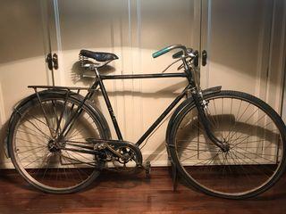 Bicicleta Orbea de varillas antigua