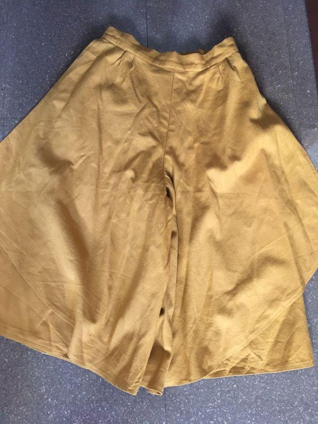 d9b932cee Falda pantalon vintage