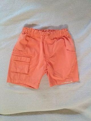 Pantalon naranja talla 2 años prácticamente nuevo
