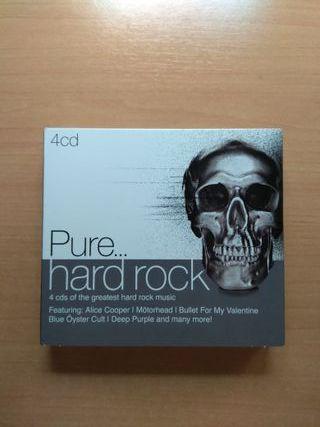 4 CD Pure Hard Rock - Recopilatorio Sony Music