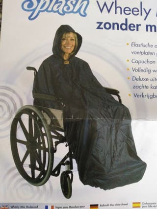 capa silla ruedas