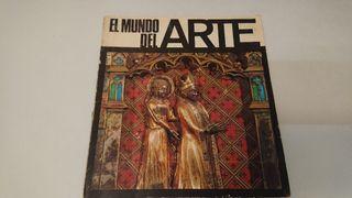 """1970 Album Cromos """"El Mundo del Arte"""""""