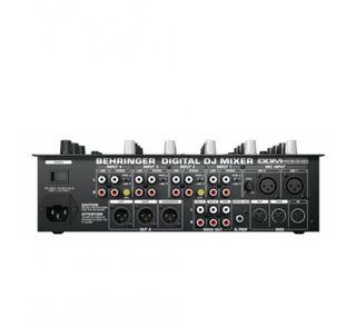 behringer digital dj mixer ddm4000