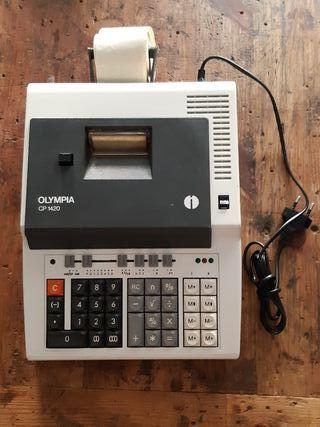 calculadora Alemana vintage OLYMPIA CP 1420