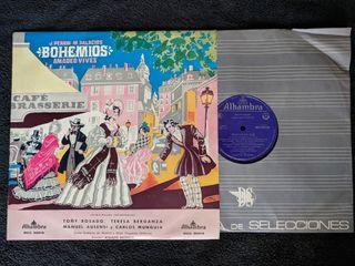 """Disco de vinilo """"Bohemios"""""""
