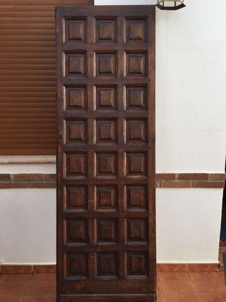 Puertas de madera antiguas de segunda mano en madrid en for Puertas de cuarterones antiguas