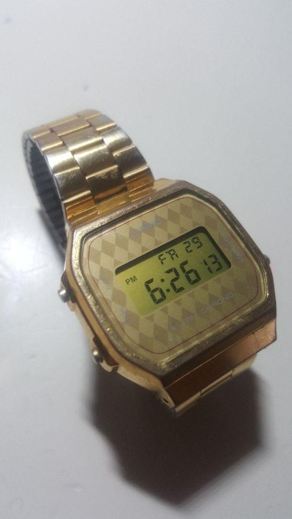 1266ed1c11e9 Reloj Casio Dorado original (no copia china) de segunda mano por 15 ...