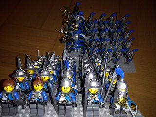 Lote minifiguras medievales compatibles con lego
