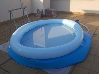 piscina de jardín