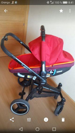 carrito dúo bebé