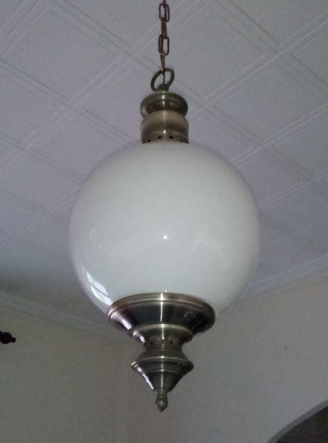 Ultima semana lote 4 lamparas antiguas bronce de segunda mano por 195 en valencia en wallapop - Lamparas en valencia ...