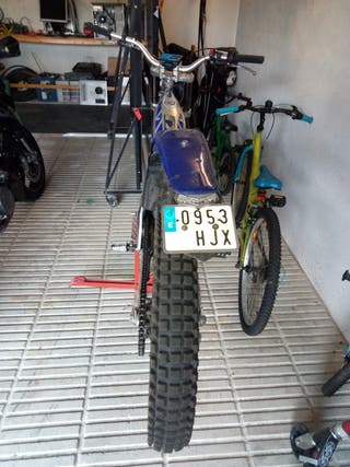 moto de trial, gas gas tx 270 de 1998