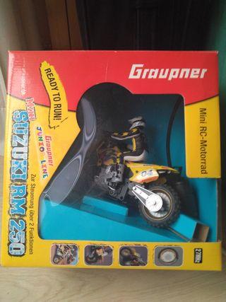 moto radiocontrol eléctrica, radio control, moto
