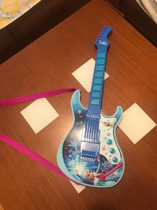 Musical Mano € De Segunda Guitarra Frozen 10 En Juguete Por 6ybvf7Yg