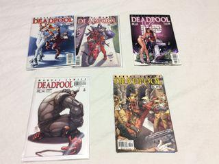 Cómics Marvel Masacre 1997 Deadpool USA