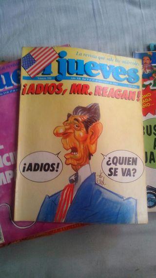 """revistas """"el jueves"""" 2'50 € unidad"""