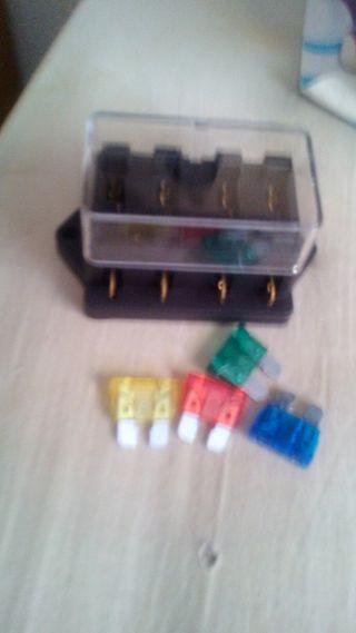 caja 4 portafusibles