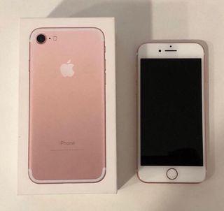 iPhone 7 de 32GB en oro rosa