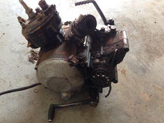 motor am6 con top negro 80cc