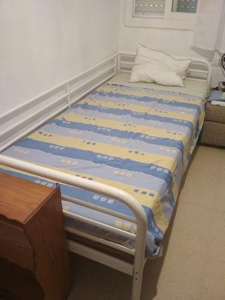 Cama de 90 con colchón