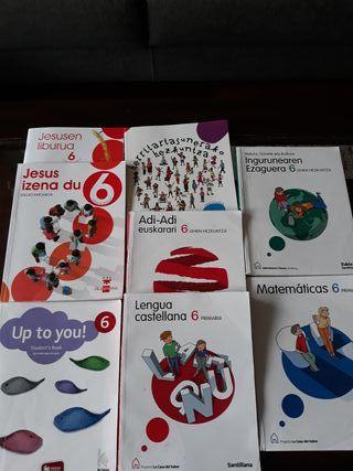 Libros de texto 6 primaria