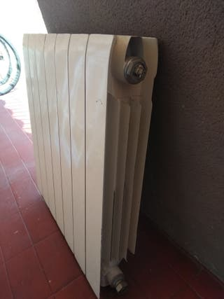 Radiador para calefaccion de gas