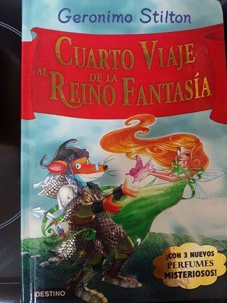 """Libro GERONIMO STILTON """"4° viaje al Reino fantasía"""