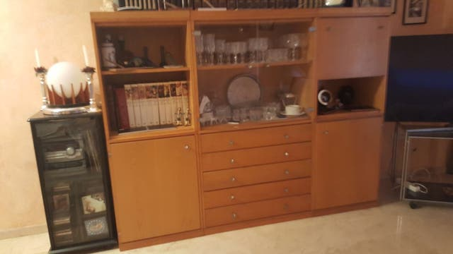 Mueble aparador de comedor madera roble de segunda mano por 160 € en ...
