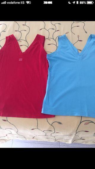 2 camisetas chica Mango L