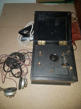 radio antigua de galena
