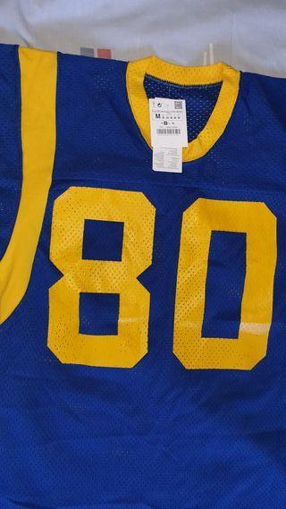 camiseta de fútbol americano NFL no. 80 original
