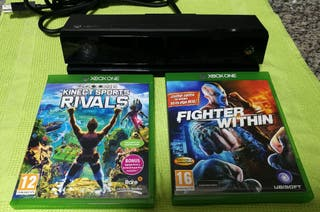 Kinect Xbox One + 2 juegos Sport y Fighter