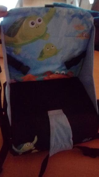 silla niño pegable