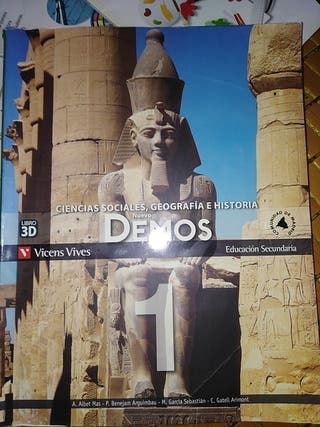 ciencias socailes,geografía e historia 1 ESO