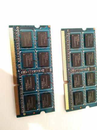 Ram DDR3 PC3 12800 8GB (2x4) dual channel