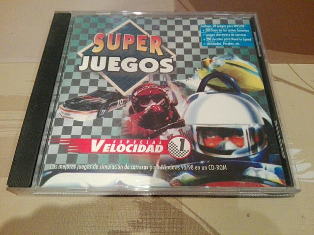 Super Juegos Especial Velocidad 1 Pc Windows De Segunda Mano Por