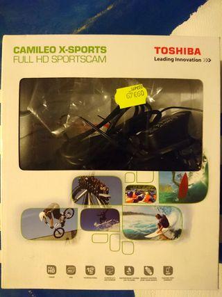 Cámara acción Toshiba Camileo X-Sports pantalla 5