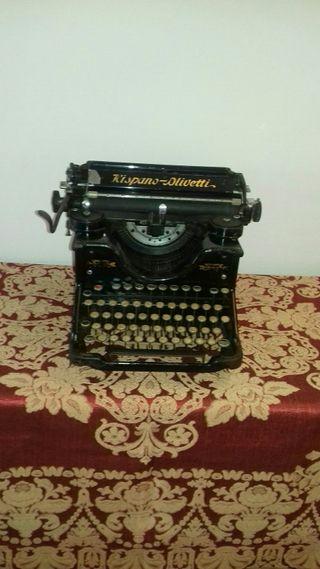 maquina de escribir hispano olivetti